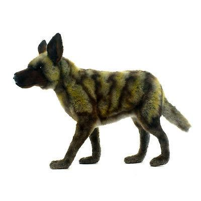 plush african wild dog 15 75 inches