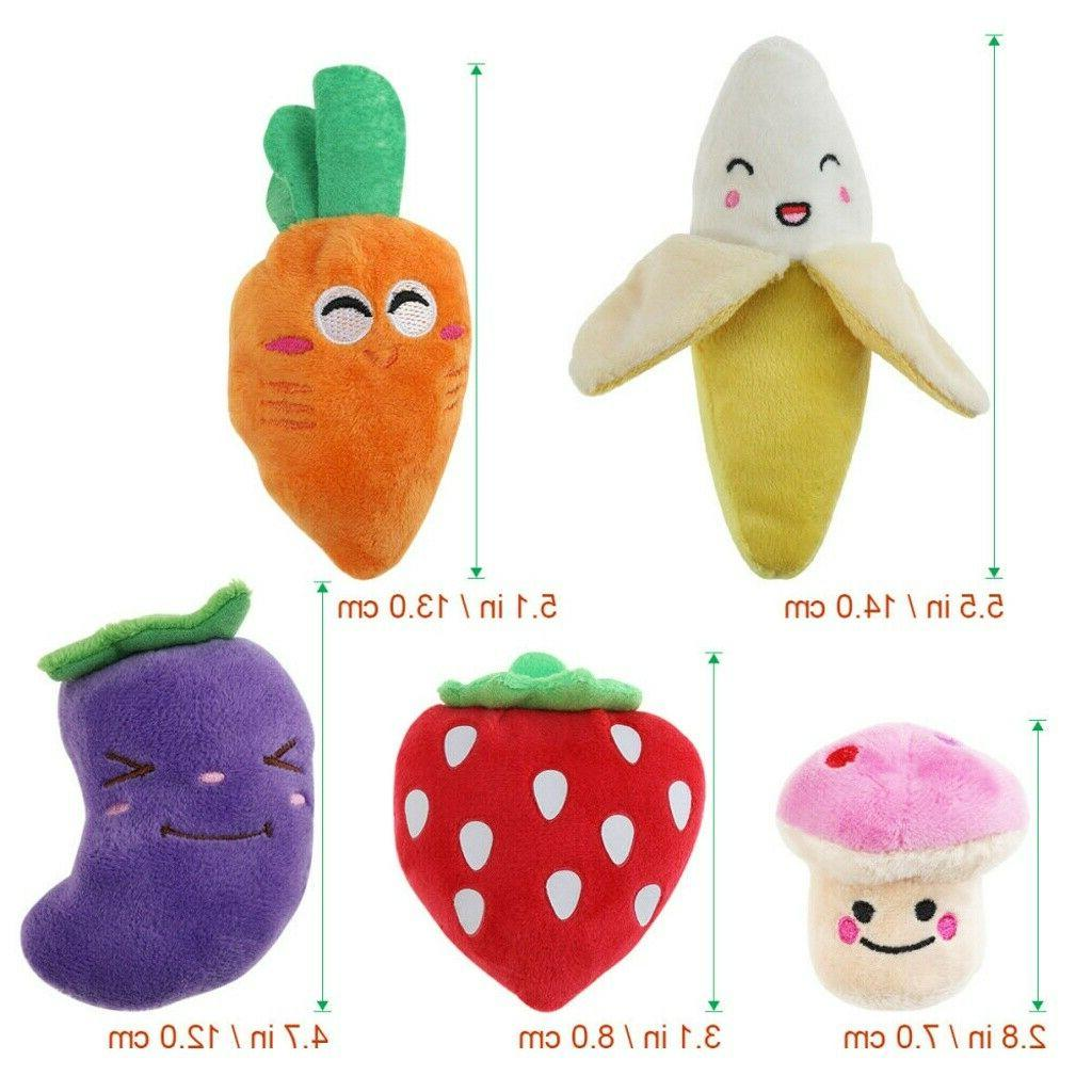 Plush Toys Dogs 5pcs and Toy Small Dog