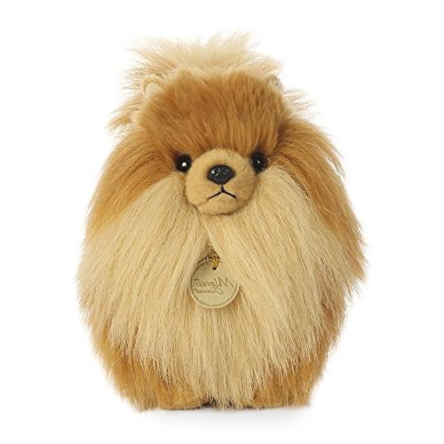 pomeranian dog plush stuffed animal