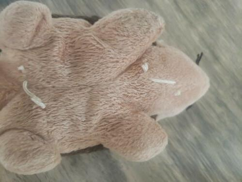 Ty Bow Wow Prickles Crinkle Squeak Toy