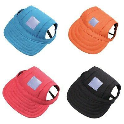 Pet Dog Baseball Sports Windproof Hats Large USA