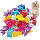 puppy pet dog hair bows grooming accessories