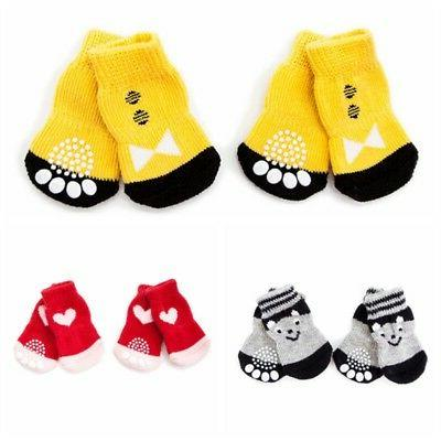 Puppy Anti Slip Knit Cat Warm Boots