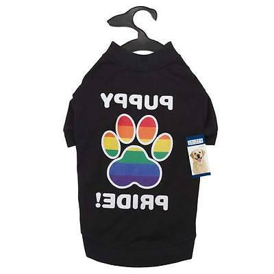 RAINBOW PUPPY SHIRTS for DOGS Equality Dog