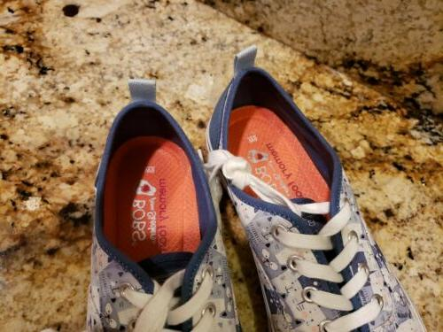 RARE! Dogs Cat print Shoes 9 worn