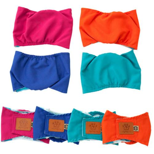 Reusable Washable Diapers Belly Bands Male Dogs Small Large