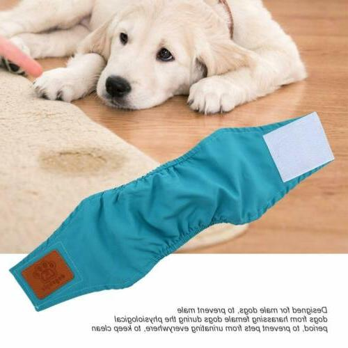 Reusable Washable Diapers Bands Male Large