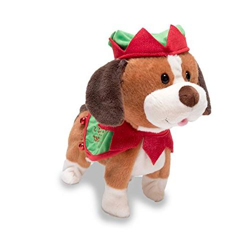santa helper puppy animated musical