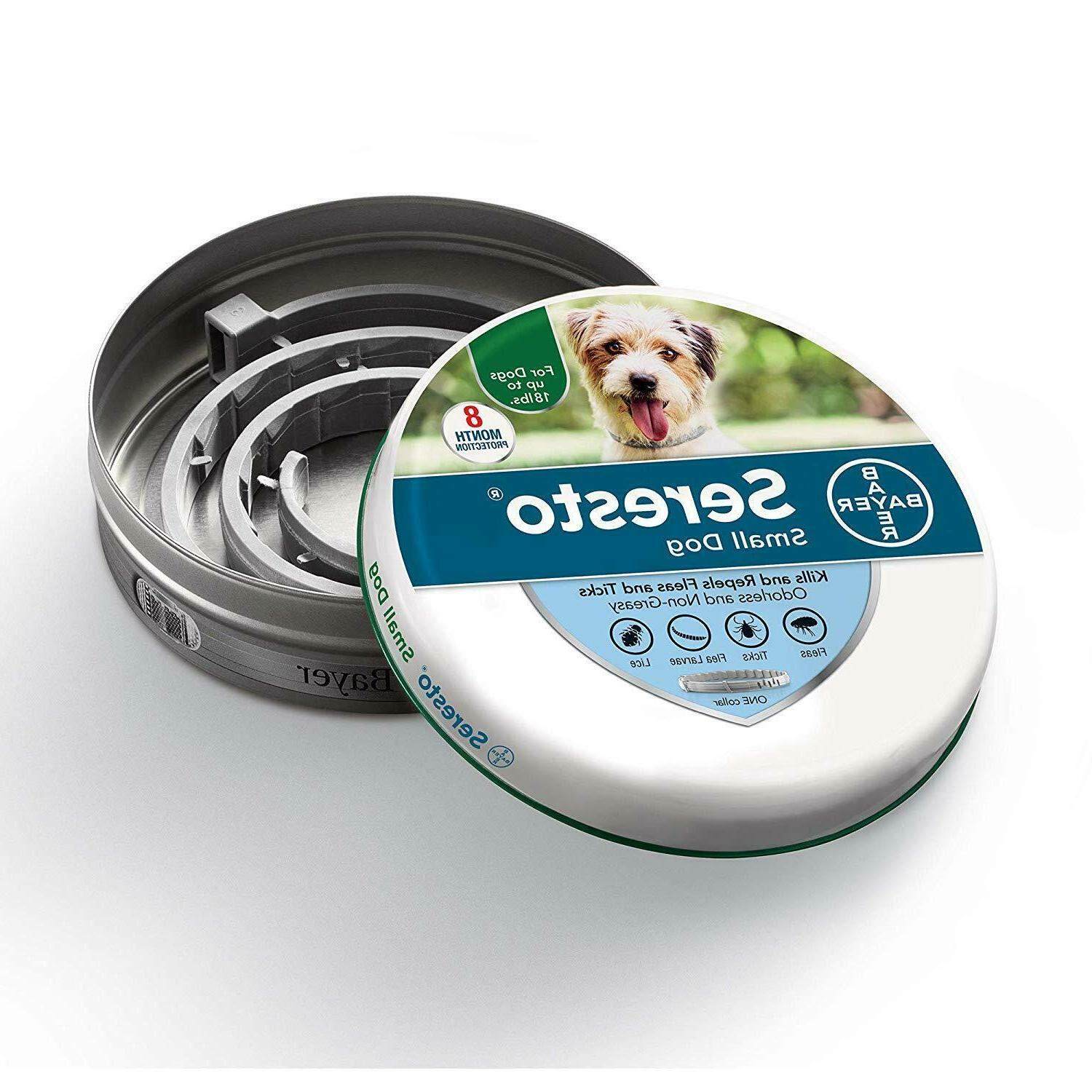 seresto flea and tick collar for small