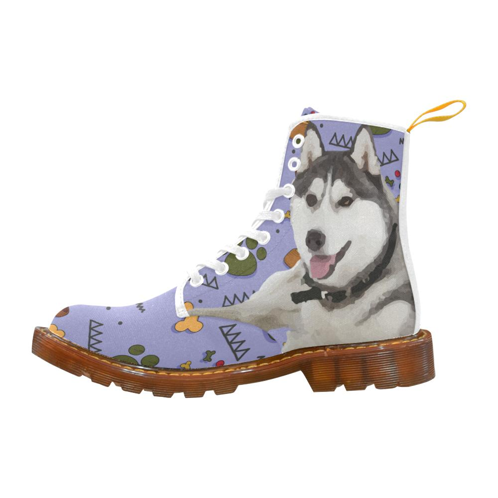 Siberian Husky Dog Shoes