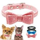 Small Dog Collar Bow tie Soft Cotton for Pet Puppy Cat Chihu