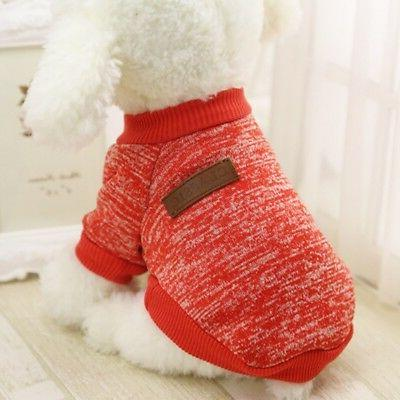 Small Dogs Pet Dog Pullover Pet Outfit Clothes