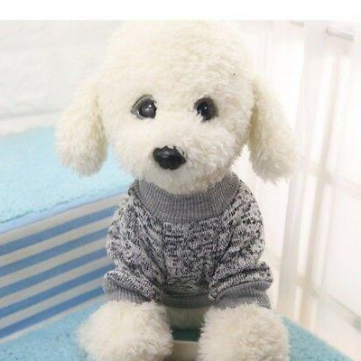 Small Dog Jumper Pullover Outfit Clothes