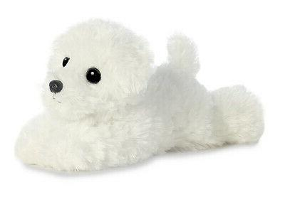 snowball bichon frise dog plush