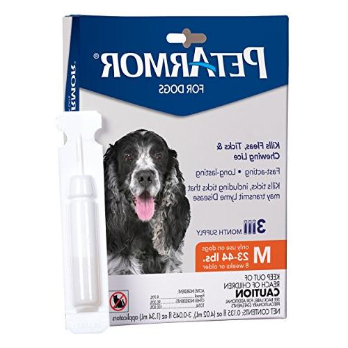 PetArmor and Treatment for Medium , Includes 3 Month Topical Flea