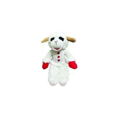 """Standing Lambchop for Dog Toy - 13"""" love cuddling and playin"""