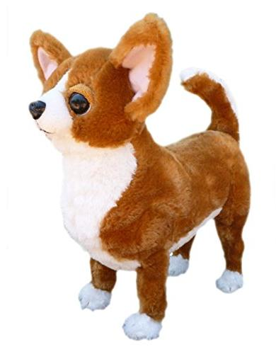 """ADORE 13"""" Standing Taco the Farting Chihuahua Dog Stuffed An"""