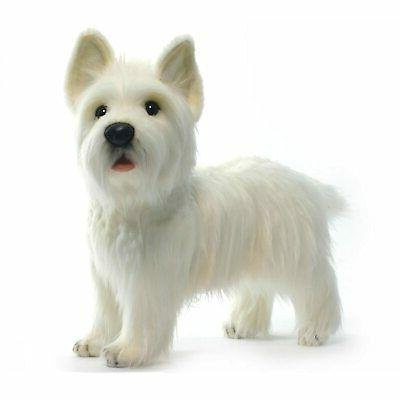 standing west highland terrier reproduction