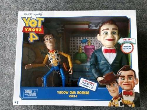 toy story 4 benson and woody cowboy