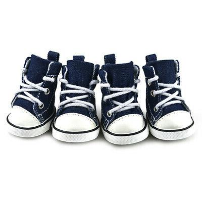 Anti-slip Shoes Puppy Denim Sneakers Small