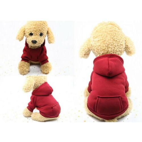 US Dog Sweater Soft Dogs Sports Hoodie Coat Cat