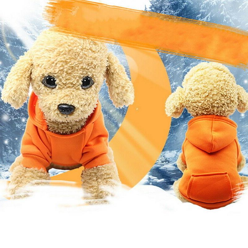 US Soft Dogs Clothes Hoodie Jumper