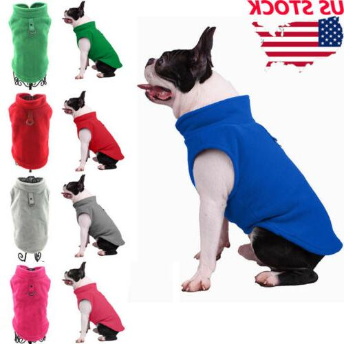 us pet fleece harness vest jacket jumper