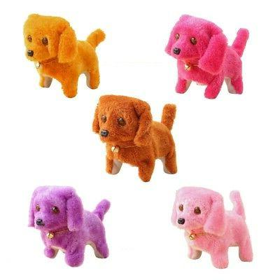 walking pet barking dogs electronic toy soft