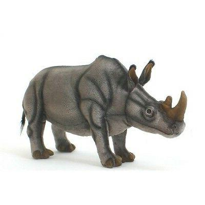 white rhino plush animal stuffed