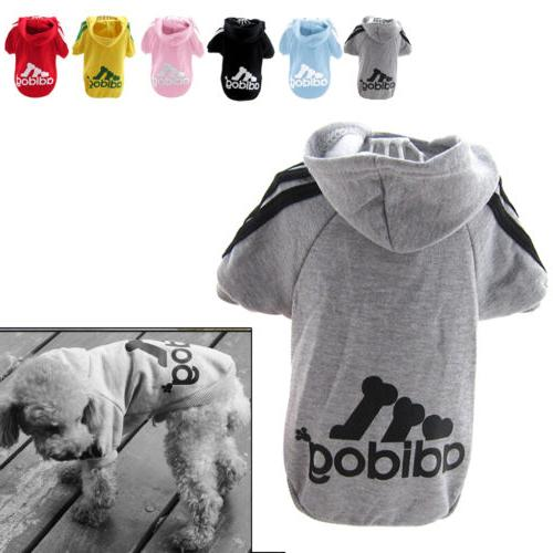Winter Casual Adidog Dog Clothes Coat Dogs