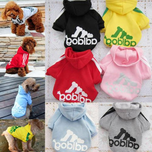 winter casual adidog pets dog clothes warm