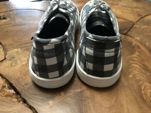 Women's Rocket Dog Check lace up NEW for Size 11