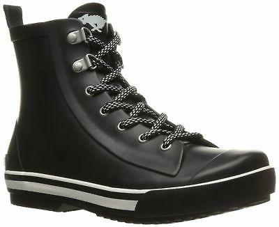 women s rainy rubber rain boot black