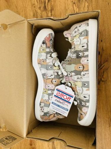 Dog House Party Slip-On Shoes Memory