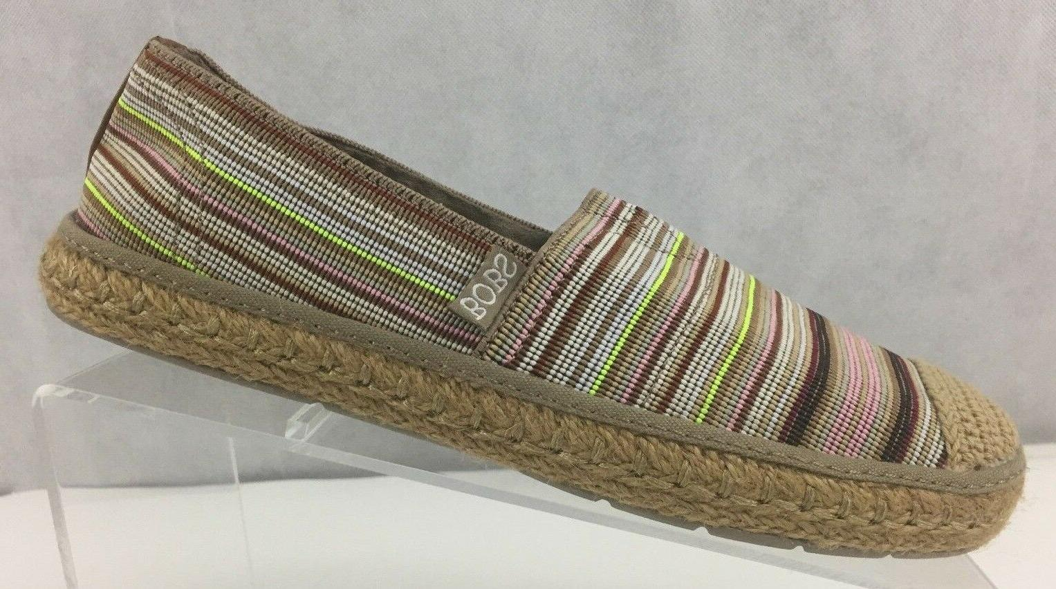 SKECHERS WOMENS BOBS DOGS CABANA MULTI COLOR US 7M 37