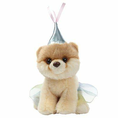 GUND World's Cutest Dog Boo Itty Bitty Boo #046 Princess Stu