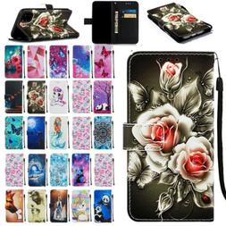 Luxury Leather Flip Wallet Case Cover For iPhone 7 8 X Xs Xr