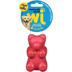 JW Pet Company Megalast Gummi Bear Dog Toy, Medium, Colors V