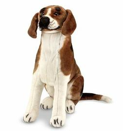 Melissa amp; Stuffed Animals Plush Toys Doug Giant Beagle -