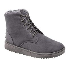 Dig dog bone Men's Fashionable Snow Boots Casual Simple Lace