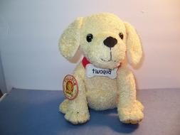 MERRYMAKERS - BISCUIT - Plush Dog - 10-Inch - NWT