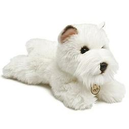 Miyoni Dogs 13127 8-inch Westie - 8inch Aurora Plush Toy New