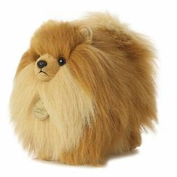 New AURORA MIYONI Stuffed Plush Toy POMERANIAN POM Soft Anim