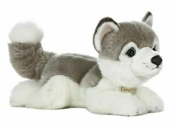 New AURORA MIYONI Stuffed Plush Toy SIBERIAN HUSKY Animal PU