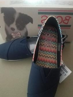 SKECHERS New Bobs For Dogs Women's Plush Dreamer Navy 9