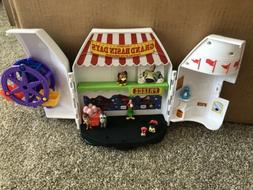 New Disney Pixar Toy Story 4 Carnival Playset With Handle Fi