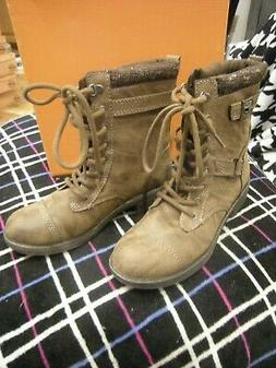 New Womens Brown Rocket Dog Thunder Heirloom Boots, Size 8.5