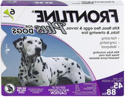 NIB FRONTLINE Plus for Large Dogs  Flea and Tick Treatment,