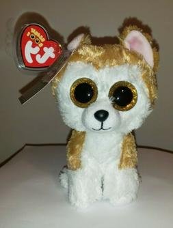NM* Ty Beanie Boo's - LOY the Akita Dog  NEW NMWMT