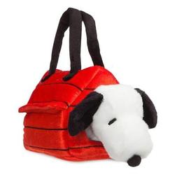 official snoopy kennel fancy pal plush toy